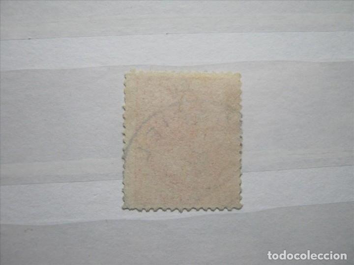 Sellos: ESPAÑA SPAIN ALFONSO XII EDIFIL 210 15 CÉNTIMOS MATASELLOS PEÑAFIEL AZUL. - Foto 2 - 182883808