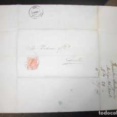 Sellos: 1886 CARTA MALAGA A SEVILLA FILATELIA SELLO - PICKMAN Y COMPAÑIA - INDUSTRIA MALAGUEÑA TEJIDOS ALGOD. Lote 183798121