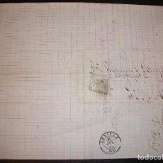Sellos: 1880 CARTA GRANADA A SEVILLA FILATELIA SELLO - PICKMAN Y COMPAÑIA -. Lote 183798722