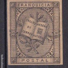Sellos: TT7- FRANQUICIA POSTAL. ANTONIO FERNÁNDEZ DURO. NUEVA * CON FIJASELLOS. Lote 185920751