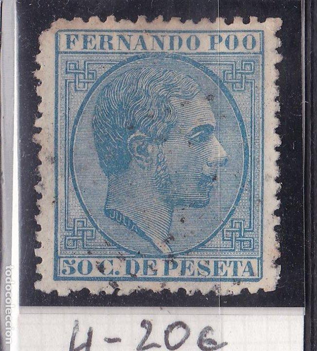 TT10- COLONIAS FERNANDO POO EDIFIL 4 (Sellos - España - Alfonso XII de 1.875 a 1.885 - Nuevos)