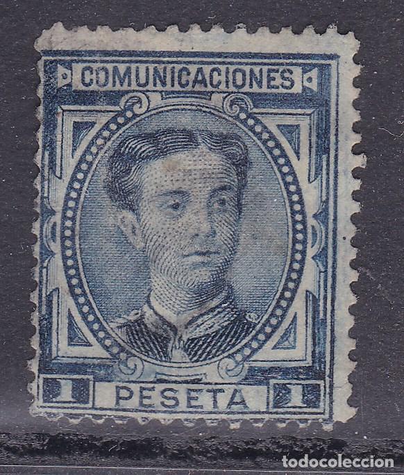 TT19-CLÁSICOS EDIFIL 180 . USADO. APARIENCIA NUEVO (Sellos - España - Alfonso XII de 1.875 a 1.885 - Nuevos)