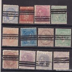 Sellos: TT21- CLÁSICOS X 12 SELLOS BARRADOS . Lote 186279888