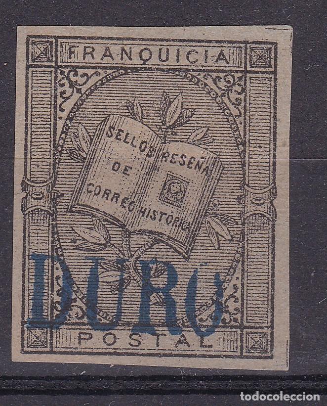 TT25- PRUEBA FRANQUICIA FERNÁNDEZ DURO (*) (Sellos - España - Alfonso XII de 1.875 a 1.885 - Nuevos)