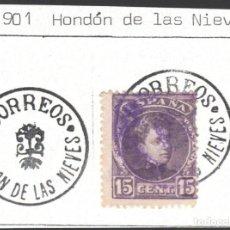 Sellos: CARTERÍAS INICIATIVA PARTICULAR, ALICANTE / HONDON DE LAS NIEVES, GRUPO 2, ESPECIAL.. Lote 187211647