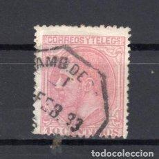 Sellos: ED Nº 202 ALFONSO XII USADO. Lote 189414697