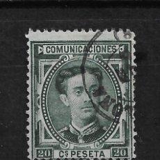 Sellos: ESPAÑA 1876 EDIFIL 176 - 15/15. Lote 190584386