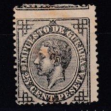 Sellos: 1876 EDIFIL 185(*) NUEVO SIN GOMA. ALFONSO XII (1219). Lote 190596270