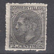 Sellos: 1879 EDIFIL 200* NUEVO CON CHARNELA. ALFONSO XII (1219). Lote 190628505