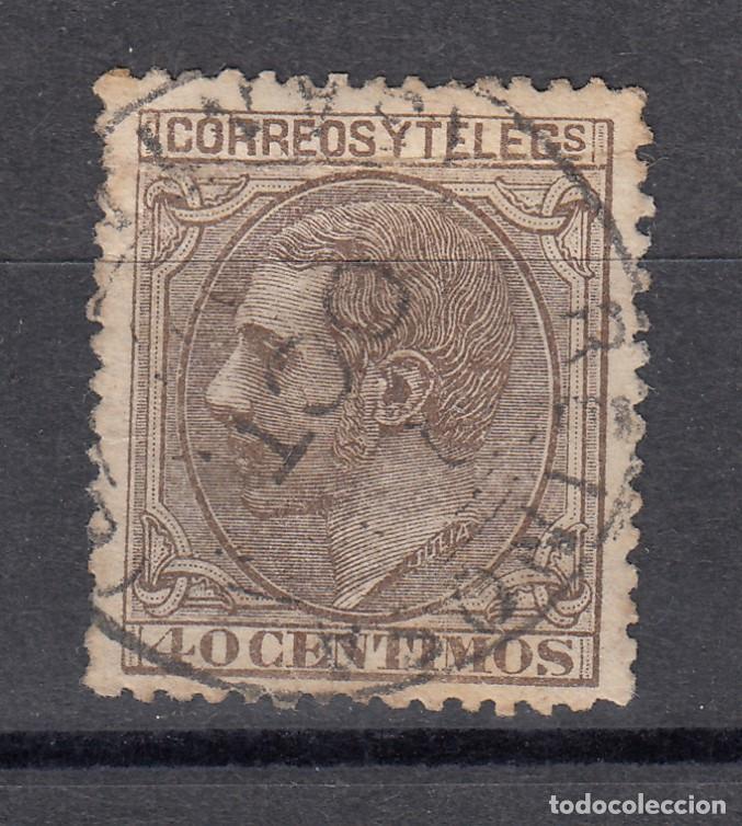 1879 EDIFIL 204 USADO. ALFONSO XII (1219) (Sellos - España - Alfonso XII de 1.875 a 1.885 - Usados)