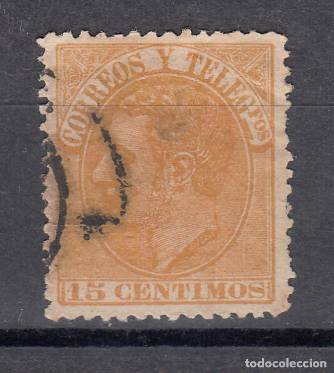 1882 EDIFIL 210 USADO. ALFONSO XII (1219) (Sellos - España - Alfonso XII de 1.875 a 1.885 - Usados)