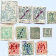 Sellos: M11 LOTE 11 SELLOS/TIMBRES 1876-1941: REINO, REPUBLICA, FRANCO (INC ARANJUEZ). Lote 155543982