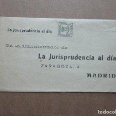Francobolli: IMPRESO CIRCULADO DE LA JURISPRUDENCIA AL DIA DE MADRID. Lote 191969857