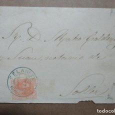 Francobolli: CIRCULADA Y ESCRITA 1884 DE FELANITX A SOLLER BALEARES. Lote 191992197