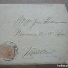 Timbres: CIRCULADA 1887 DE PALMA DE MALLORCA A MADRID. Lote 191994521