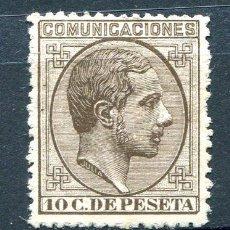 Sellos: EDIFIL 192. 10 CTS ALFONSO XII. AÑO 1878. NUEVO SIN GOMA.. Lote 194144272