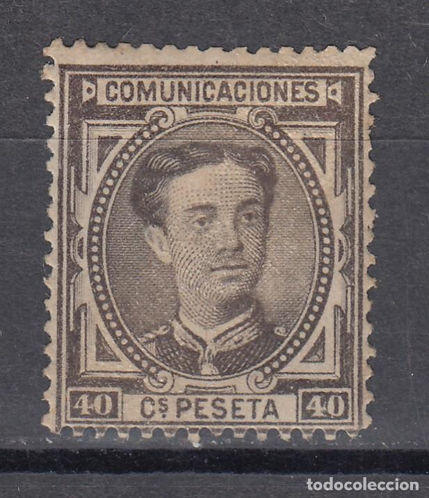1876 EDIFIL 178* NUEVO CON CHARNELA. ALFONSO XII (1219-2) (Sellos - España - Alfonso XII de 1.875 a 1.885 - Nuevos)