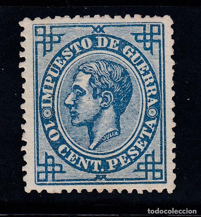 1876 EDIFIL 184(*) NUEVO SIN GOMA. ALFONSO XII (220) (Sellos - España - Alfonso XII de 1.875 a 1.885 - Nuevos)