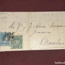 Francobolli: TORTOSA, TARRAGONA. CARTA. MEMBRETE PASCUAL BERNIS. Lote 195514262
