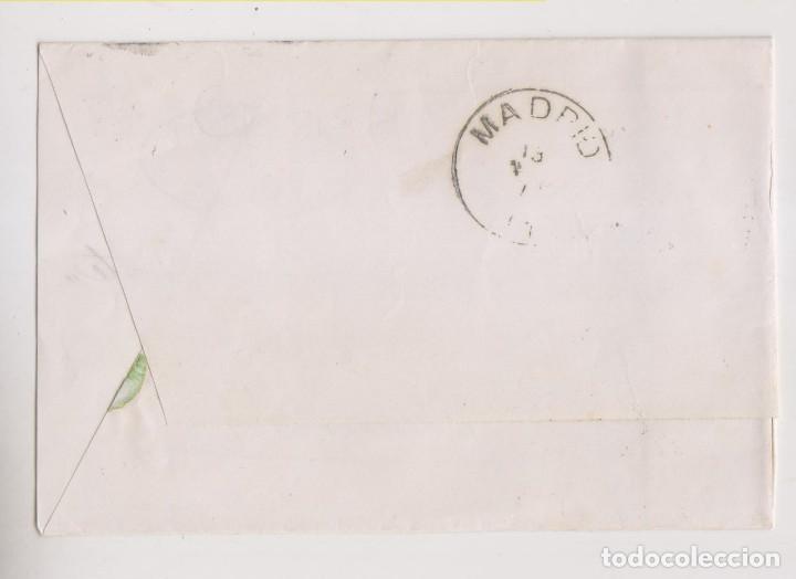 Sellos: ENVUELTA. LINARES, JAÉN. 1876. IMPUESTO DE GUERRA. PRECIOSO FECHADOR - Foto 2 - 197056651