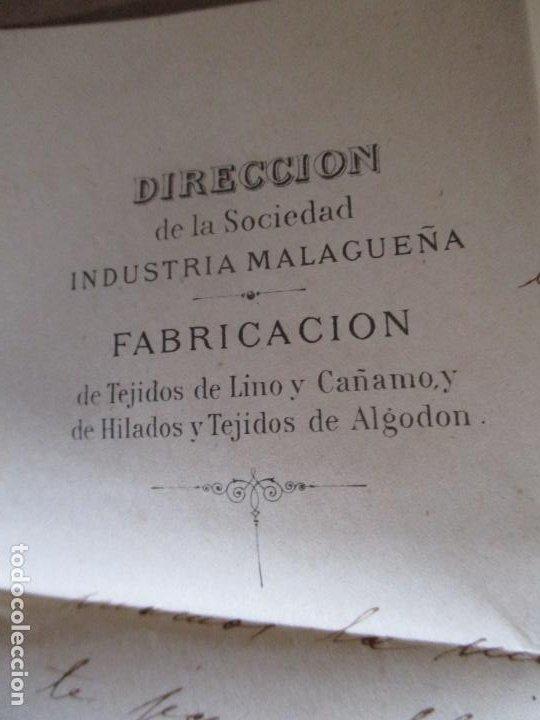 Sellos: circulada y escrita 1886 de malaga a sevilla con error en la fecha 1899 - Foto 3 - 196677237