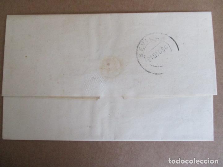 Sellos: circulada y escrita 1886 de malaga a sevilla con error en la fecha 1899 - Foto 4 - 196677237