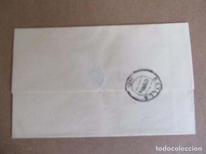 Sellos: circulada y escrita 1886 de malaga a sevilla - Foto 2 - 196677310