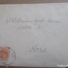 Timbres: CIRCULADA 1888 DE SORIA A SORIA. Lote 199121943