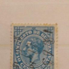 Timbres: AÑO 1876 ALFONSO XII USADO EDIFIL 184. Lote 202014141