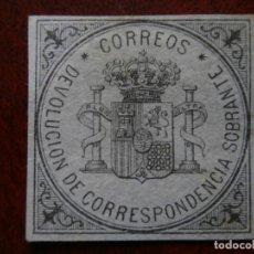 Sellos: PRIMER CENTENARIO - 1875 - SELLO DE DEVOLUCION - EDIFIL 172 - MARQUILLA.. Lote 204500211