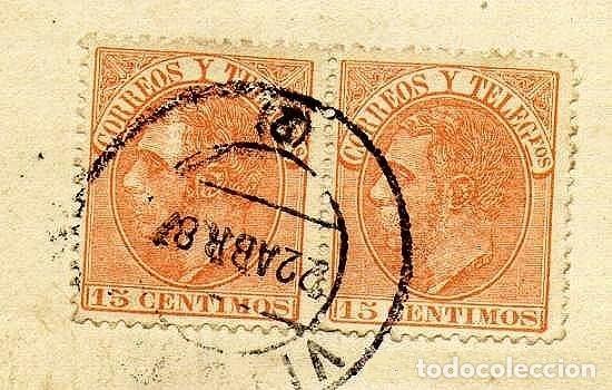Sellos: CARTA EDIFIL 210 GRAN DEFECTO - Foto 2 - 204676845