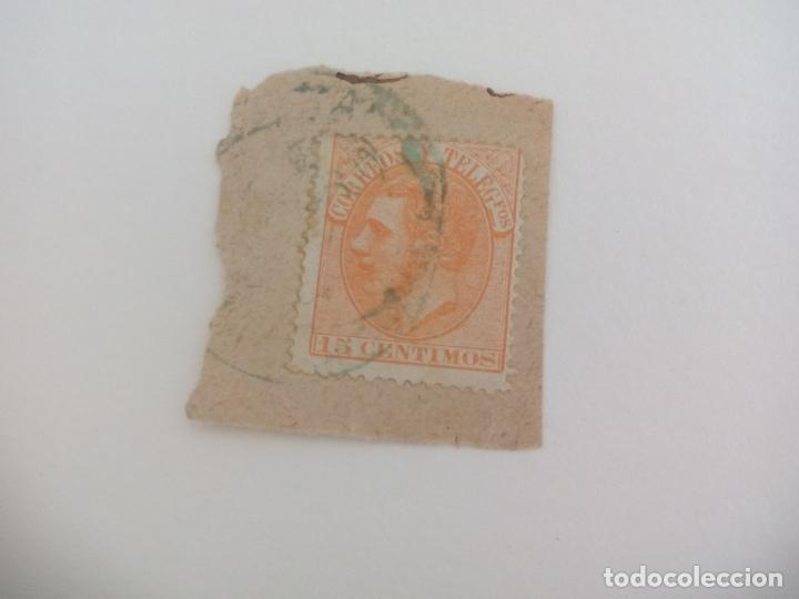 SELLO DE 15 CÉNTIMOS . ESPAÑA - ALFONSO XII 1882 (Sellos - España - Alfonso XII de 1.875 a 1.885 - Usados)