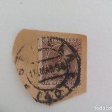 Sellos: SELLO ALFONSO XII. MATASELLOS SEVILLA. PELON, 15 CENTIMOS, 1889. Lote 205818456