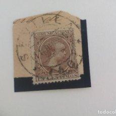 Sellos: SELLO ALFONSO XII. MATASELLOS SEVILLA. PELON, 15 CENTIMOS, 1889. Lote 205818820