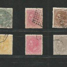 Sellos: ESPAÑA.AÑO 1879.ALFONSO XII.EDIFIL Nº 200/209 SERIE COMPLETA,LUJO. Lote 206278541