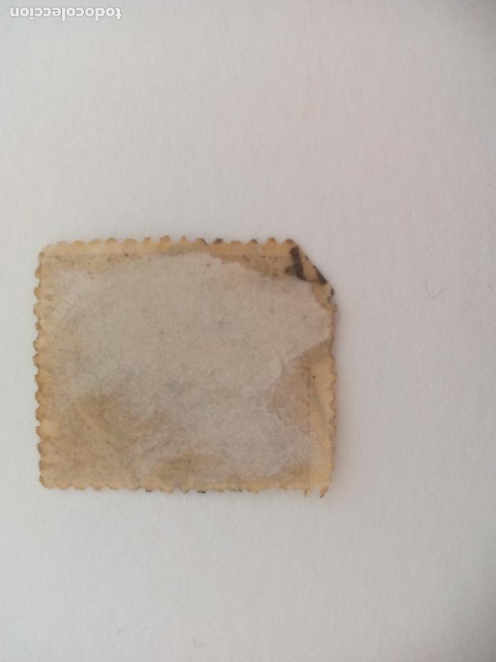 Sellos: SELLO ALFONSO XII. MATASELLOS AMB. ASC. FERROCARRIL? MALAGA. PELON, 15 CENTIMOS, 1889 - Foto 2 - 206288456
