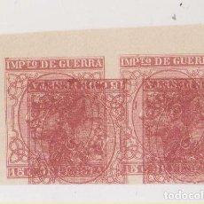 Sellos: MACULATURA. SELLOS DE IMPUESTO DE GUERRA. Lote 206401755