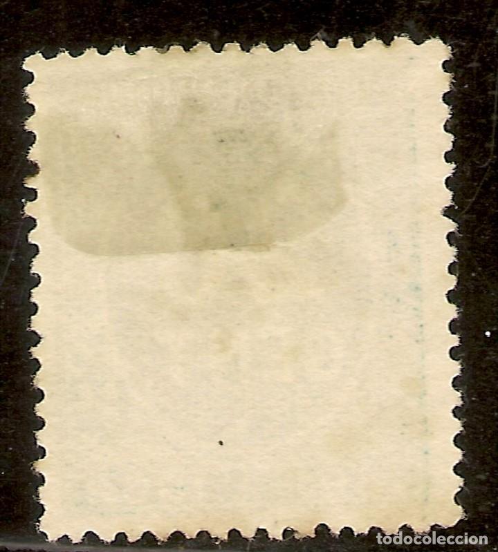 Sellos: España Edifil 235* Mh 20 Céntimos Verde Cifras 1897 NL1009 - Foto 2 - 207012620