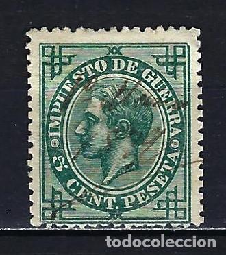 1876 ESPAÑA EDIFIL 183 IMPUESTO DE GUERRA - ALFONSO XII - USADO (Sellos - España - Alfonso XII de 1.875 a 1.885 - Usados)