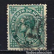 Sellos: 1876 ESPAÑA EDIFIL 183 IMPUESTO DE GUERRA - ALFONSO XII - USADO. Lote 207222043