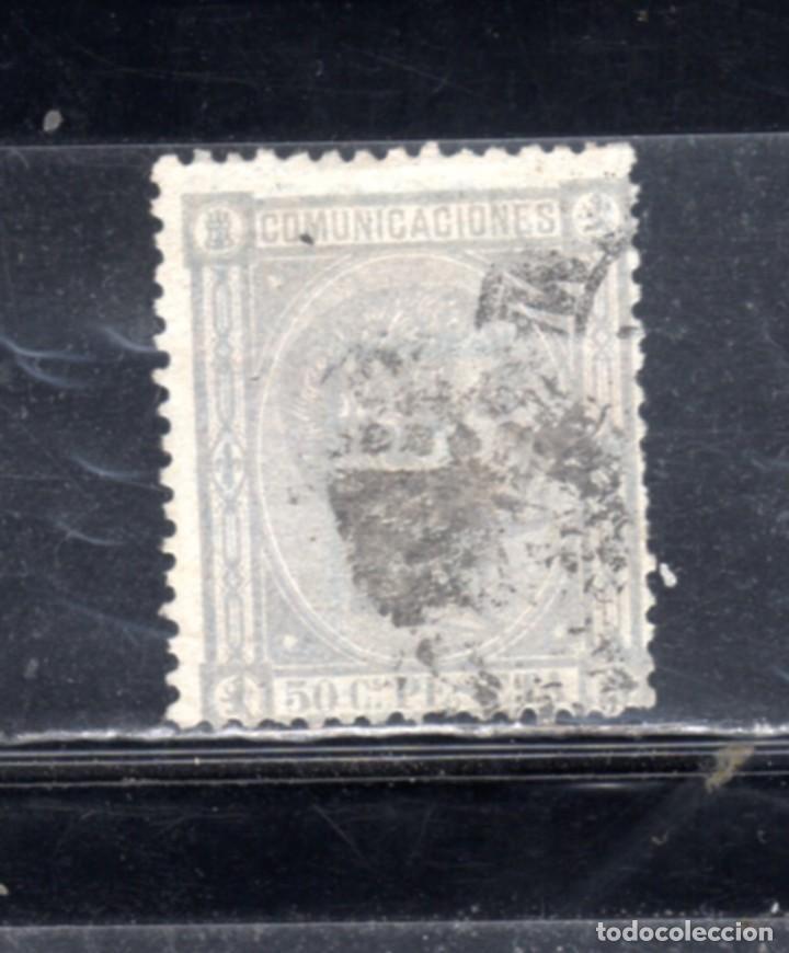 ED Nº 168 REINADO DE ALFONSO XII USADO (Sellos - España - Alfonso XII de 1.875 a 1.885 - Usados)