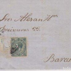 Timbres: AÑO 1876 EDIFIL 183 ALFONSO XII METASELLOS PALMA ENRIQUE RAMIS. Lote 208234945