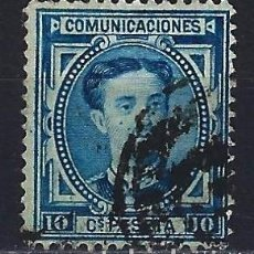 Timbres: 1876 ESPAÑA EDIFIL 175 ALFONSO XII USADO. Lote 208680478
