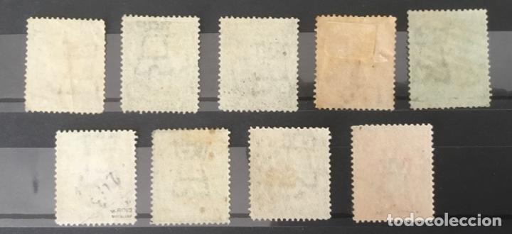 Sellos: 1876 - España Alfonso XII. Filigrana castillo - Edifil 174/182 - Foto 2 - 208867073