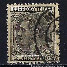 Sellos: 1879 ESPAÑA EDIFIL 200 ALFONSO XII USADO FECHADOR CENTRADO BUENOS MÁRGENES. Lote 210028362