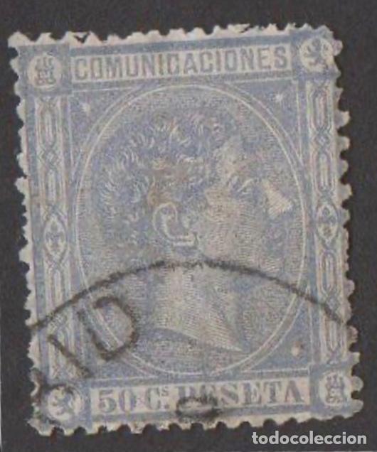 Sellos: 1875-ESPAÑA ALFONSO XII EDIFIL 162/169 Y 171 SERIE COMPLETA A FALTA DE 170 - USADO - VC: 2909 € - Foto 9 - 210239986