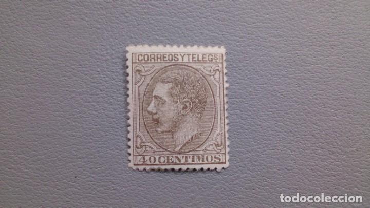 ESPAÑA - 1879 - ALFONSO XII - EDIFIL 205 - MH* - NUEVO - LUJO - MUY BIEN CENTRADO. (Sellos - España - Alfonso XII de 1.875 a 1.885 - Nuevos)