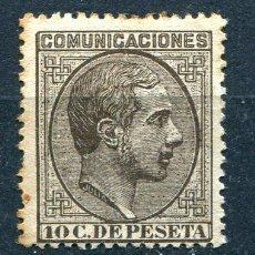 Sellos: EDIFIL 192. 10 CTS ALFONSO XII. AÑO 1878. NUEVO SIN GOMA Y ALGO DE ÓXIDO. Lote 211427616