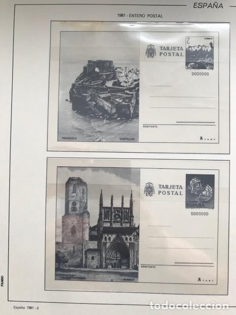 Sellos: España año 1981 HF80 con enteros postales y aerogramas VER IMAGENES - Foto 5 - 212076758