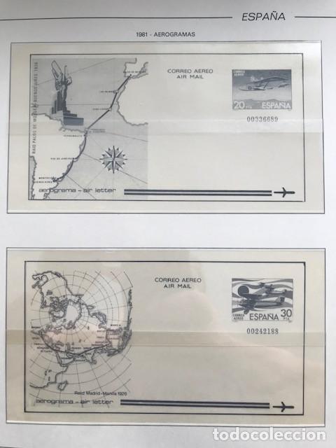 Sellos: España año 1981 HF80 con enteros postales y aerogramas VER IMAGENES - Foto 9 - 212076758